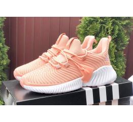 Женские кроссовки Adidas AlphaBOUNCE Instinct коралловые