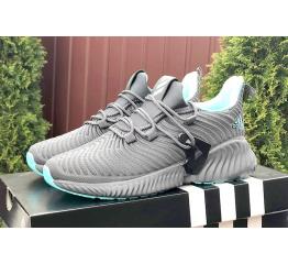 Купить Жіночі кросівки Adidas AlphaBOUNCE Instinct сірі з бірюзовим в Украине