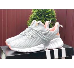 Купить Жіночі кросівки Adidas AlphaBOUNCE Instinct сірі з рожевим в Украине