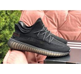 Купить Жіночі кросівки Adidas Yeezy Boost 350 V2 black в Украине