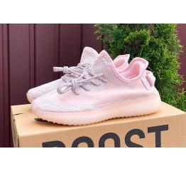 Купить Женские кроссовки Adidas Yeezy Boost 350 V2 розовые