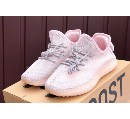 Купить Жіночі кросівки Adidas Yeezy Boost 350 V2 рожеві в Украине