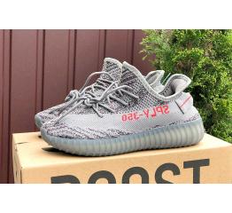 Купить Женские кроссовки Adidas Yeezy Boost 350 V2 SPLY-350 серые