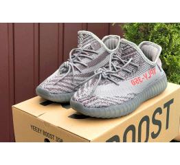 Купить Жіночі кросівки Adidas Yeezy Boost 350 V2 SPLY-350 сірі в Украине