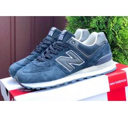 Купить Женские кроссовки New Balance 574 темно-синие (dark blue)