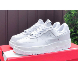 Купить Женские кроссовки Nike Air Force 1 Pixel белые