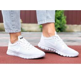 Купить Жіночі кросівки Nike Free 3.0 V2 білі в Украине
