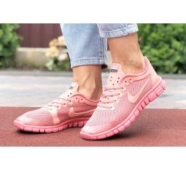 Купить Женские кроссовки Nike Free 3.0 V2 розовые