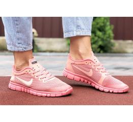 Купить Жіночі кросівки Nike Free 3.0 V2 рожеві в Украине