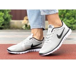 Купить Жіночі кросівки Nike Free 3.0 V2 світло-сірі