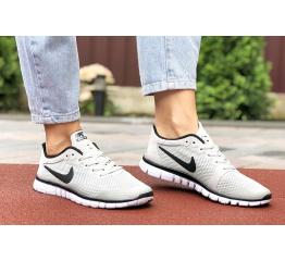 Купить Жіночі кросівки Nike Free 3.0 V2 світло-сірі в Украине