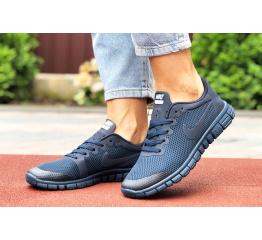 Купить Женские кроссовки Nike Free 3.0 V2 темно-синие
