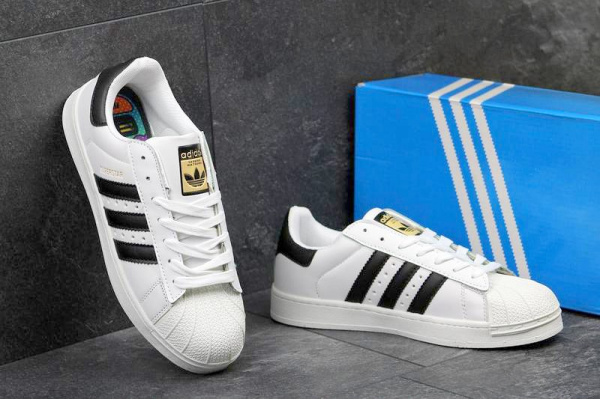 Мужские кроссовки Adidas Originals Superstar White
