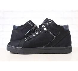 Мужские ботинки зимние черные
