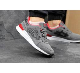 Купить Мужские кроссовки Asics GEL-Lyte III серые с черным