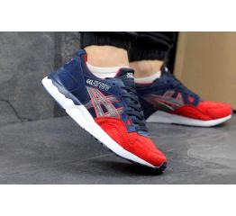 Купить Мужские кроссовки Asics GEL-Lyte V темно-синие с красным