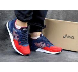 Купить Мужские кроссовки Asics GEL-Lyte V темно-синие с красным в Украине