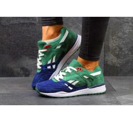 Купить Женские кроссовки Reebok Hexalite Ventilator зеленые с синим