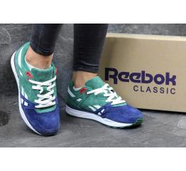 Купить Женские кроссовки Reebok Hexalite Ventilator зеленые с синим в Украине