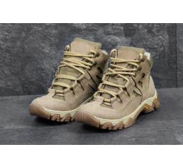 Мужские ботинки Military бежевые