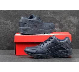 Купить Чоловічі високі кросівки Nike Air Huarache темно-сині