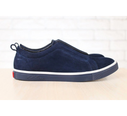 Купить Чоловічі туфлі снікери темно-миние