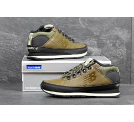 Мужские высокие кроссовки New Balance H754BGY оливковые