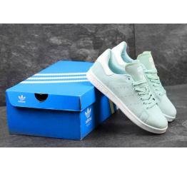 Купить Женские кроссовки Adidas Stan Smith бирюзовые в Украине