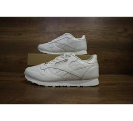 Купить Жіночі кросівки Reebok Classic Leather білі