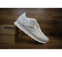 Купить Женские кроссовки Reebok Classic Leather белые в Украине