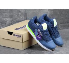 Купить Женские кроссовки Reebok Classic Leather темно-синие в Украине