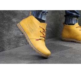 Мужские ботинки Levi's Chukka Boot зимние сamel