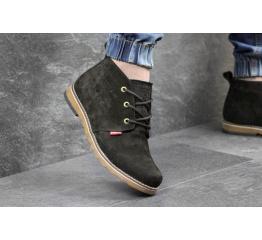 Мужские ботинки Levi's Chukka Boot зимние черные