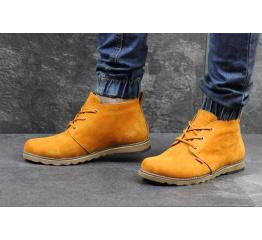 Мужские ботинки Levi's Chukka Boot зимние горчичные