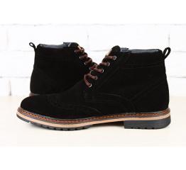 Мужские ботинки Tommy Hilfiger зимние черные