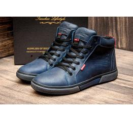 Мужские ботинки Wrangler зимние синие
