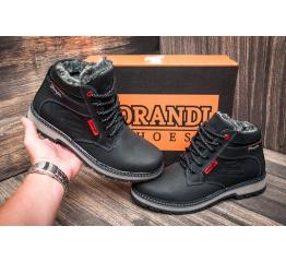 Мужские ботинки Wrangler зимние черные