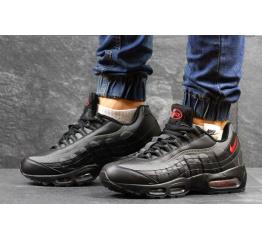 Купить Мужские кроссовки Nike Air Max 95 черные с серым
