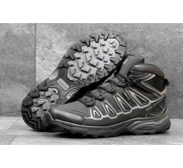 Купить Чоловічі черевики Salomon X Ultra Mid 2 GTX чорні з сірим