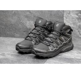 Купить Мужские ботинки Salomon X Ultra Mid 2 GTX черные с серым в Украине