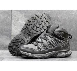Купить Мужские ботинки Salomon X Ultra Mid 2 GTX серые с черным