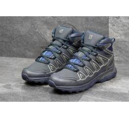 Купить Чоловічі черевики Salomon X Ultra Mid 2 GTX темно-сині в Украине