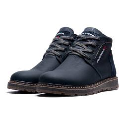 Мужские ботинки Tommy Hilfiger Denim Boots зимние темно-синие