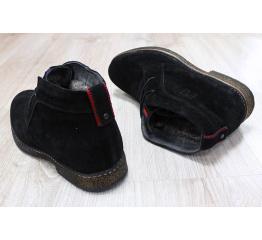Мужские ботинки Tommy Hilfiger Suede Ankle Boot зимние черные