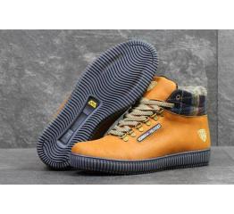 Мужские ботинки Tommy Hilfiger зимние светло-коричневые