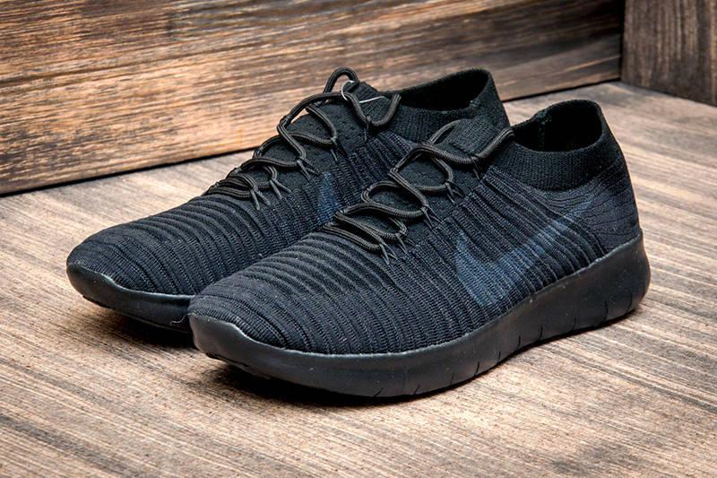 quality design afc21 2c9d7 Мужские кроссовки Nike Free RN Motion FlyKnit черные