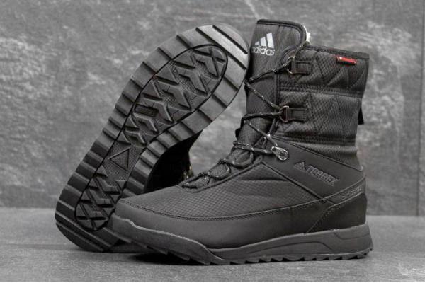 4985f304 Женские ботинки Adidas TERREX Choleah Climaproof Padded зимние черные