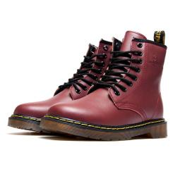 Купить Женские ботинки Dr. Martens 1460 бордовые