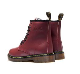 Купить Жіночі черевики Dr. Martens 1460 бордові в Украине