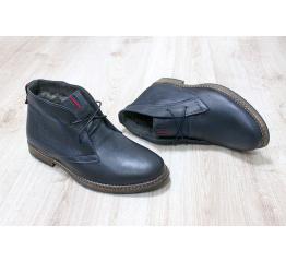 Мужские ботинки Tommy Hilfiger Ankle Boot зимние темно-синие